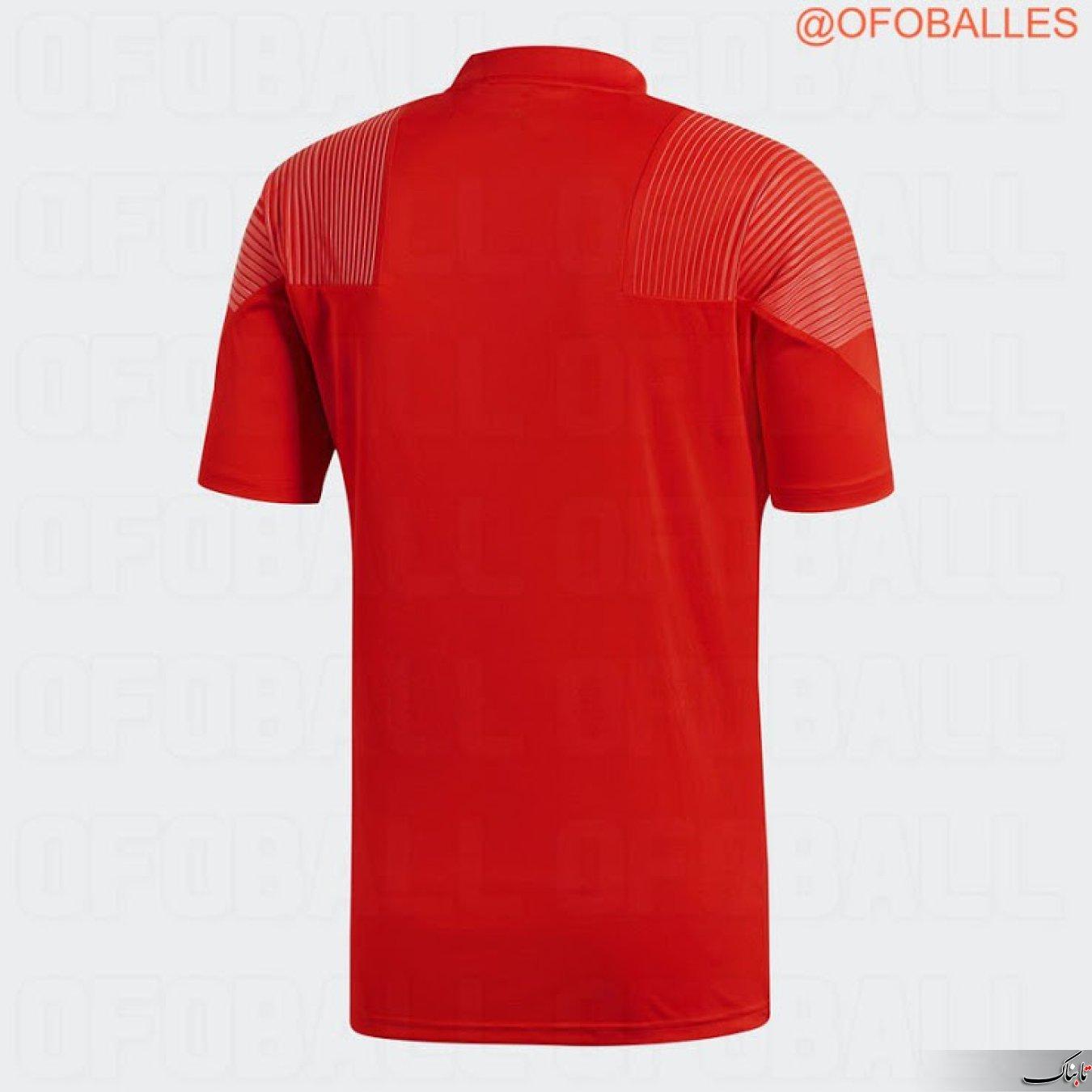 پیراهن های جدید قرمزرنگ رئال مادرید در لیگ قهرمانان