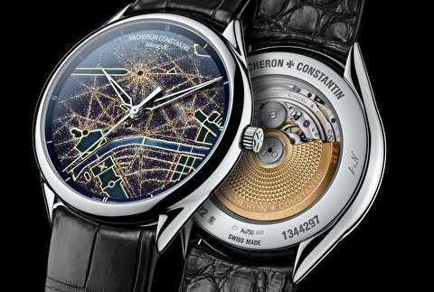 طرحهای ساعت واشرون کنستانتین در 2017