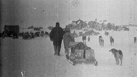 اولین ویدیو از سفر به قطب شمال در 1902