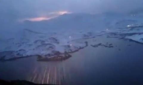 لحظات فرود در خطرناکترین فرودگاه اروپا