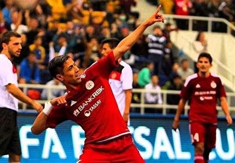 درخشش ستاره ایرانی در لیگ فوتسال قزاقستان