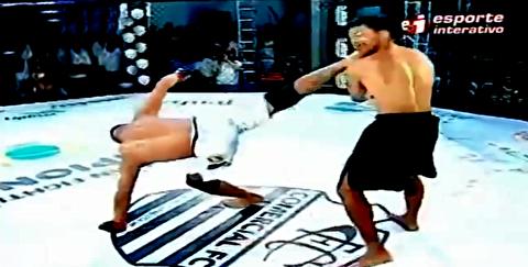 برترین ناک اوت در مسابقات MMA