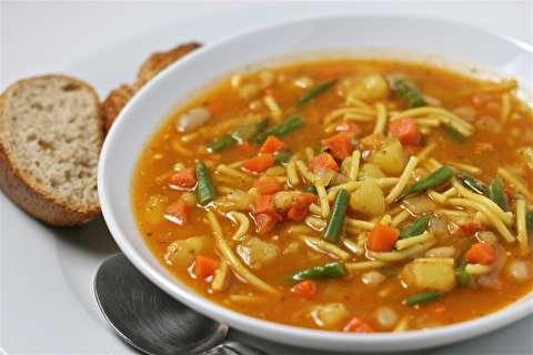 طرز تهیه سوپ جو قرمز