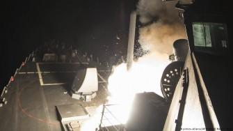 اقدام موشکی آمریکا در سوریه