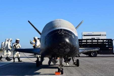 فرود هواپیمای فضایی آمریکا پس از دو سال