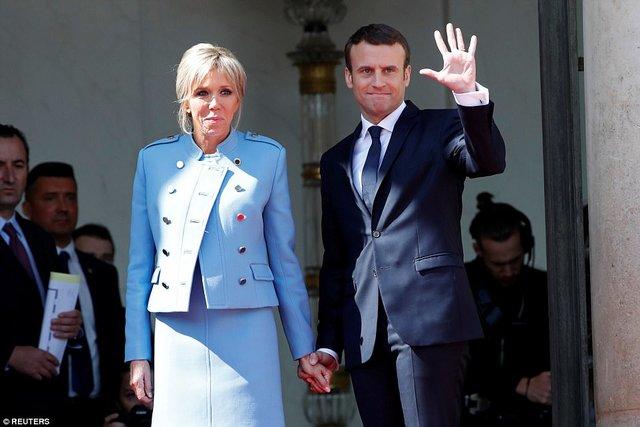 لباس اجارهای بانوی اول فرانسه سوژه داغ رسانهها