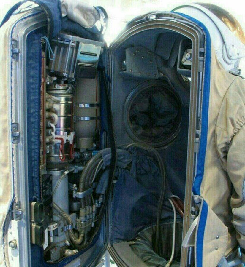 آیا لباس فضانوردان را از نزدیک دیدهاید؟