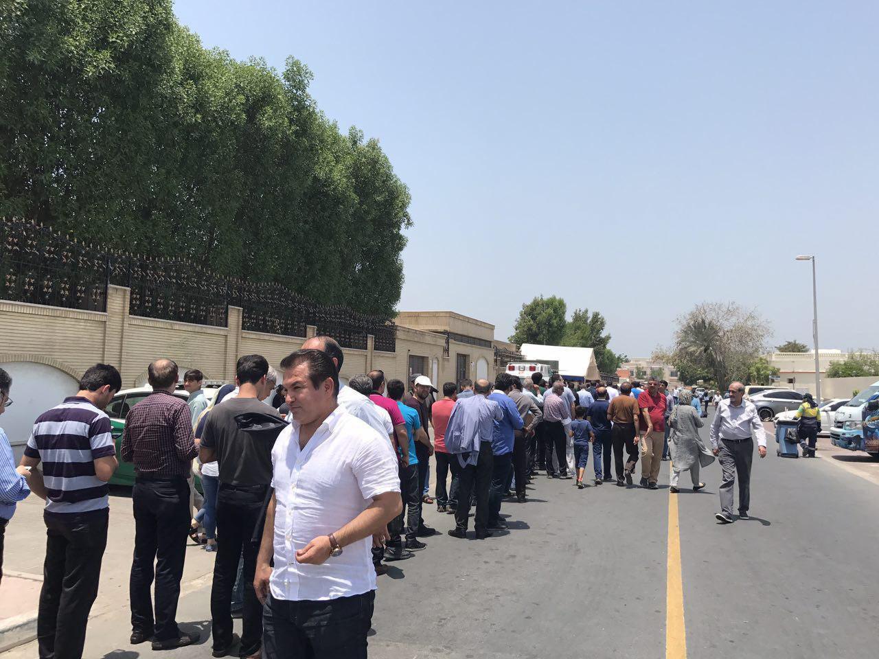 گزارش تصویری انتخابات ایران در شهرهای جهان