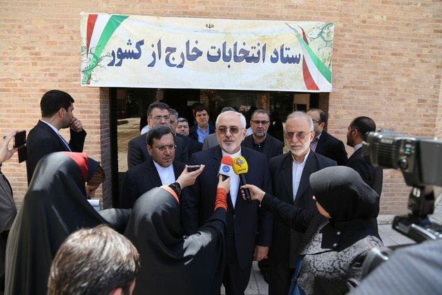 ظریف: انتخابات ایران مهمترین اتفاق منطقه است