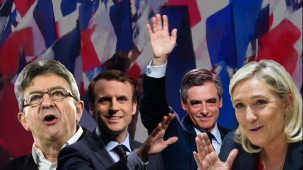 France goes to the polls, Le Pen and Macron leading the race