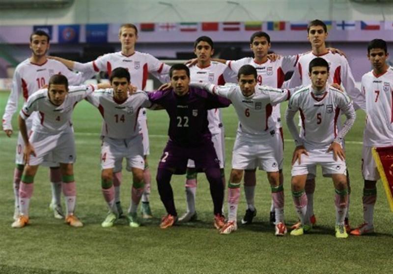 پیروزی نوجوانان ایران مقابل تیم میزبان/کاربزرگ شاگردان چمنیان مقابل10هزار هوادار