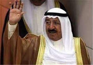 امیر کویت برای میانجی گری میان قطر و عربستان راهی امارات شد