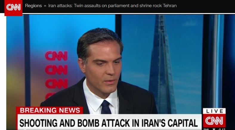 بازتاب جهانی حملات تروریستی امروز در تهران / حمله به نمادهای جمهوری اسلامی ایران