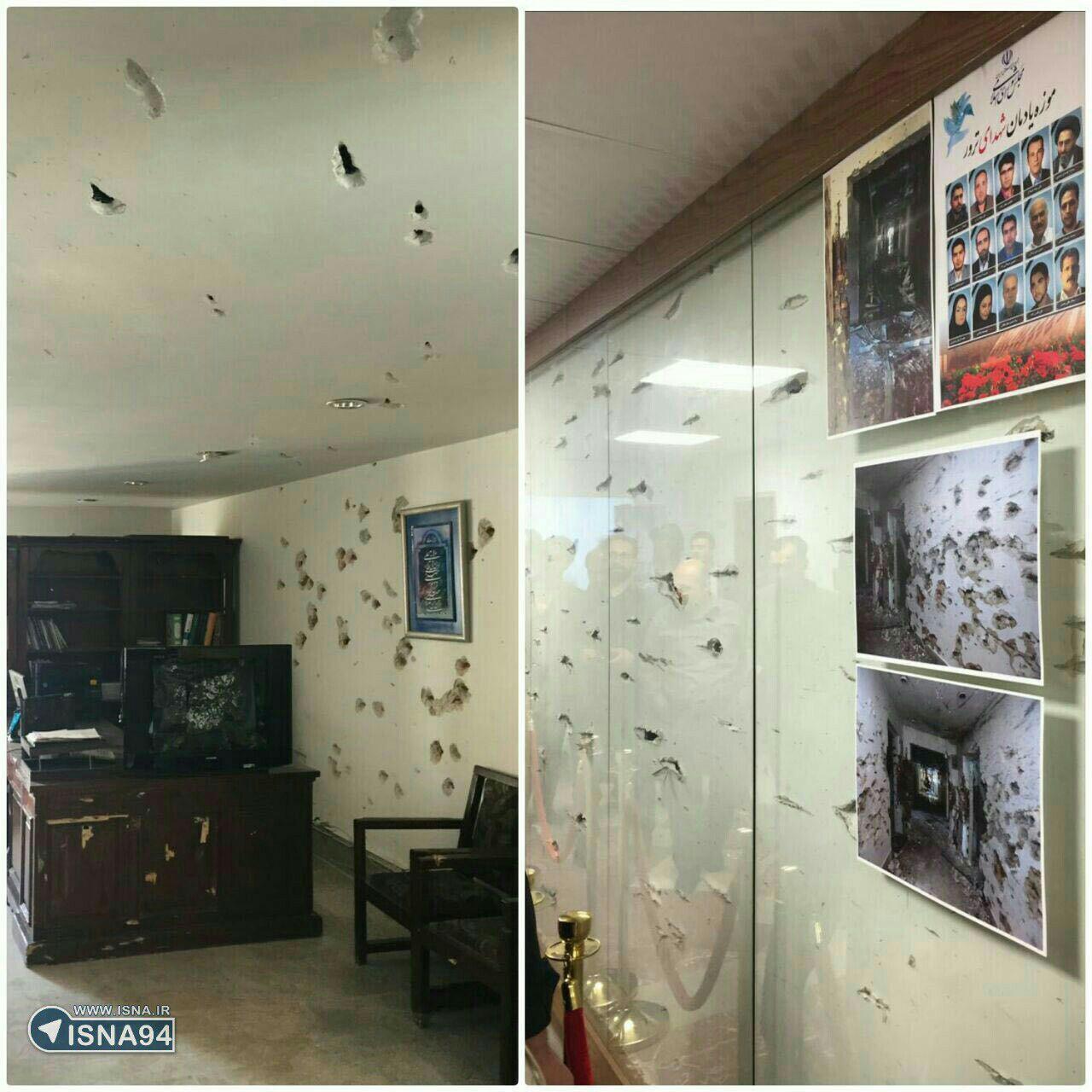 افتتاح موزه يادمان شهداي ترور توسط رييس مجلس