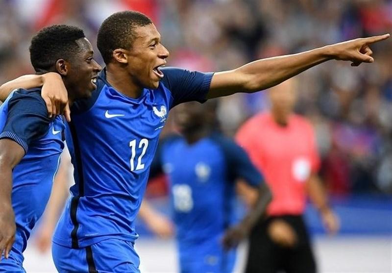 فرانسه10نفره انگلیس راشکست داد