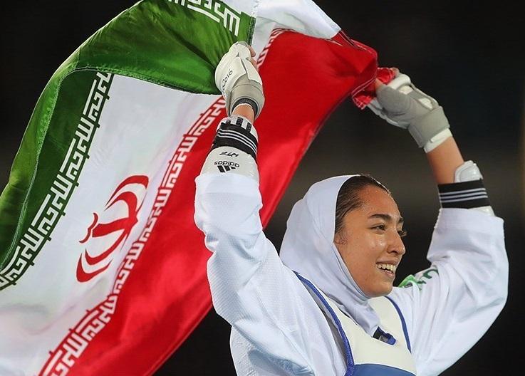 بانوی ایرانی پرچمدارمسابقات تکواندوی قهرمانی جهان شد