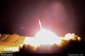 تصاویر اصابت موشکها به مقر تروریستها به ایران رسید/ این تصاویر ساعت 14 پخش میشود