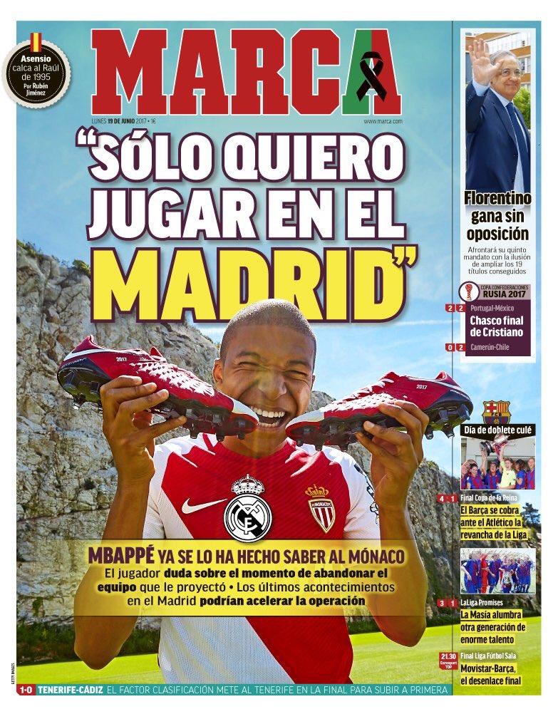 امباپه:فقط برای رئال مادرید بازی می کنم