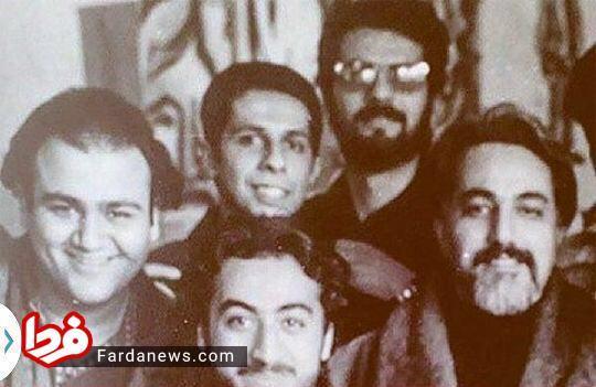 جواد رضویان و مهران غفوریان سال اول دانشگاه