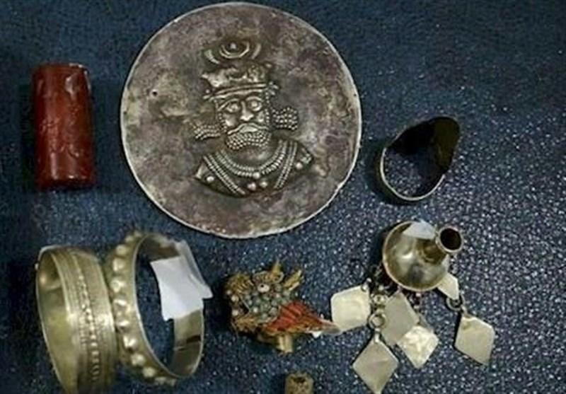 کشف اشیاء تاریخی هزاره اول قبل از میلاد در یاسوج