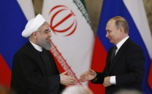 Putin discusses Syria, economic ties with Iran's Rouhani: Kremlin