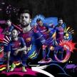 رونمایی رسمی ازپیراهن اول بارسلونابرای فصل18-2017+عکس