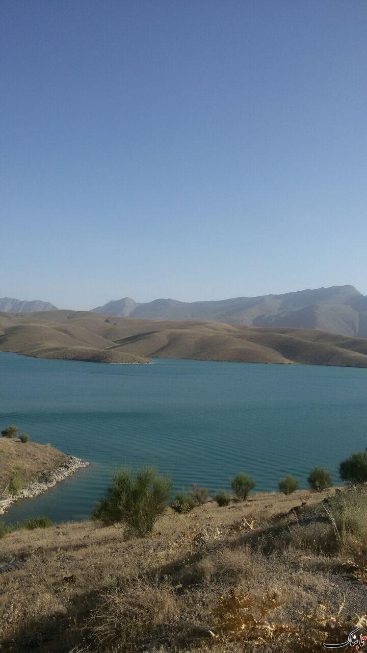 دریاچه سد گلپایگان