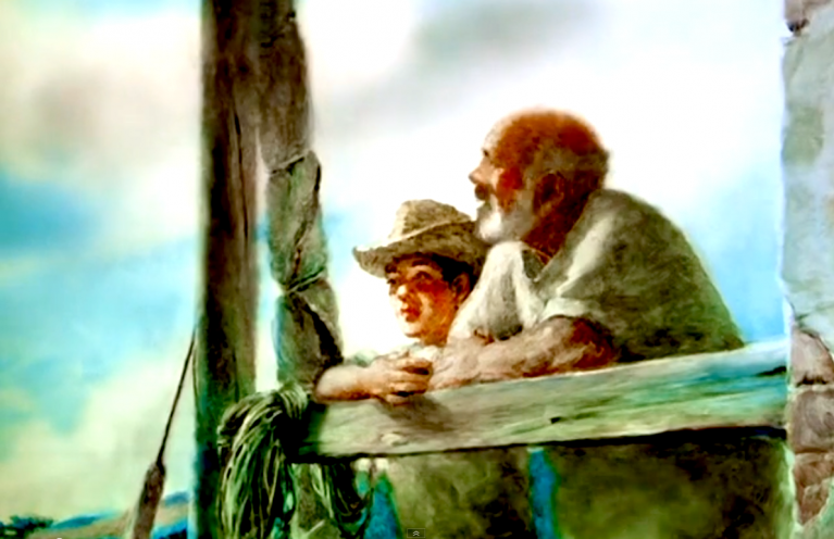 ویدیو: انیمیشن تماشایی پیرمرد و دریا