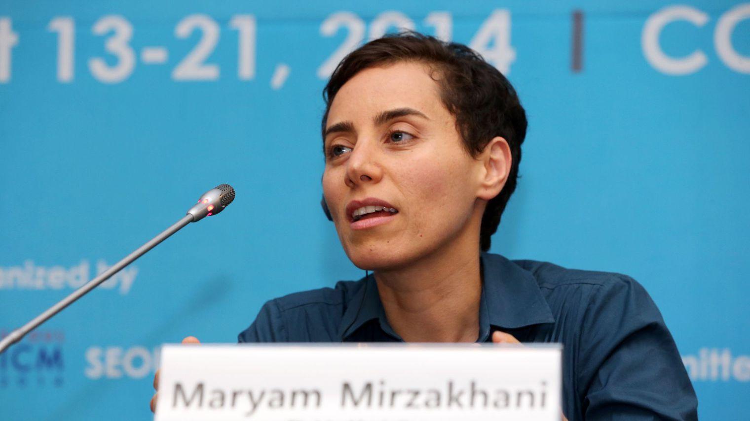 «مریم میرزاخانی»، نابغه ایرانی چشم از جهان فروبست