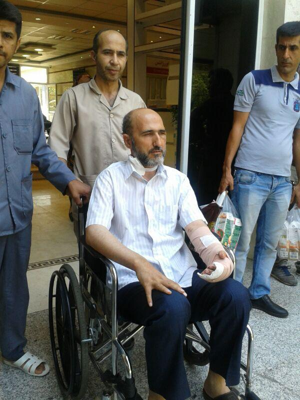 ترخیص روحانی مجروح حادثه مترو شهرری