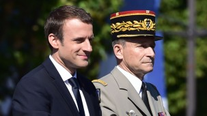 French military chief Pierre de Villiers resigns after clash with President Macron