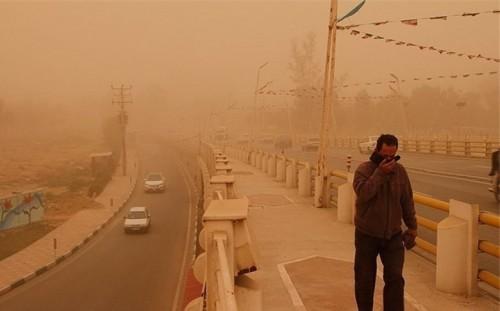 مقابله عربستان با تلاش بین المللی ایران برای مبارزه با گرد و غبار!
