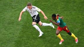 تصاویری ازصعود آلمان و شیلی به نیمه نهایی جام کنفدراسیون