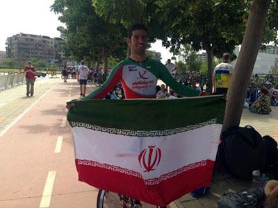 رکاب زن ایران طلا گرفت