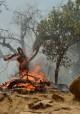 آتشی که یکشنبه گفتند خاموش شد، هنوز جنگل های اندیشمک را می سوزاند!