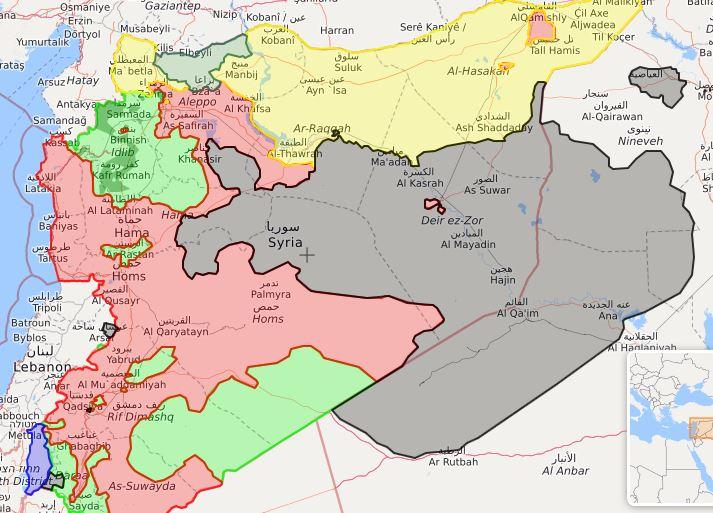 خطی که از بیانیه اخیر کاخ سفید در رابطه با ایران در سوریه باید خواند
