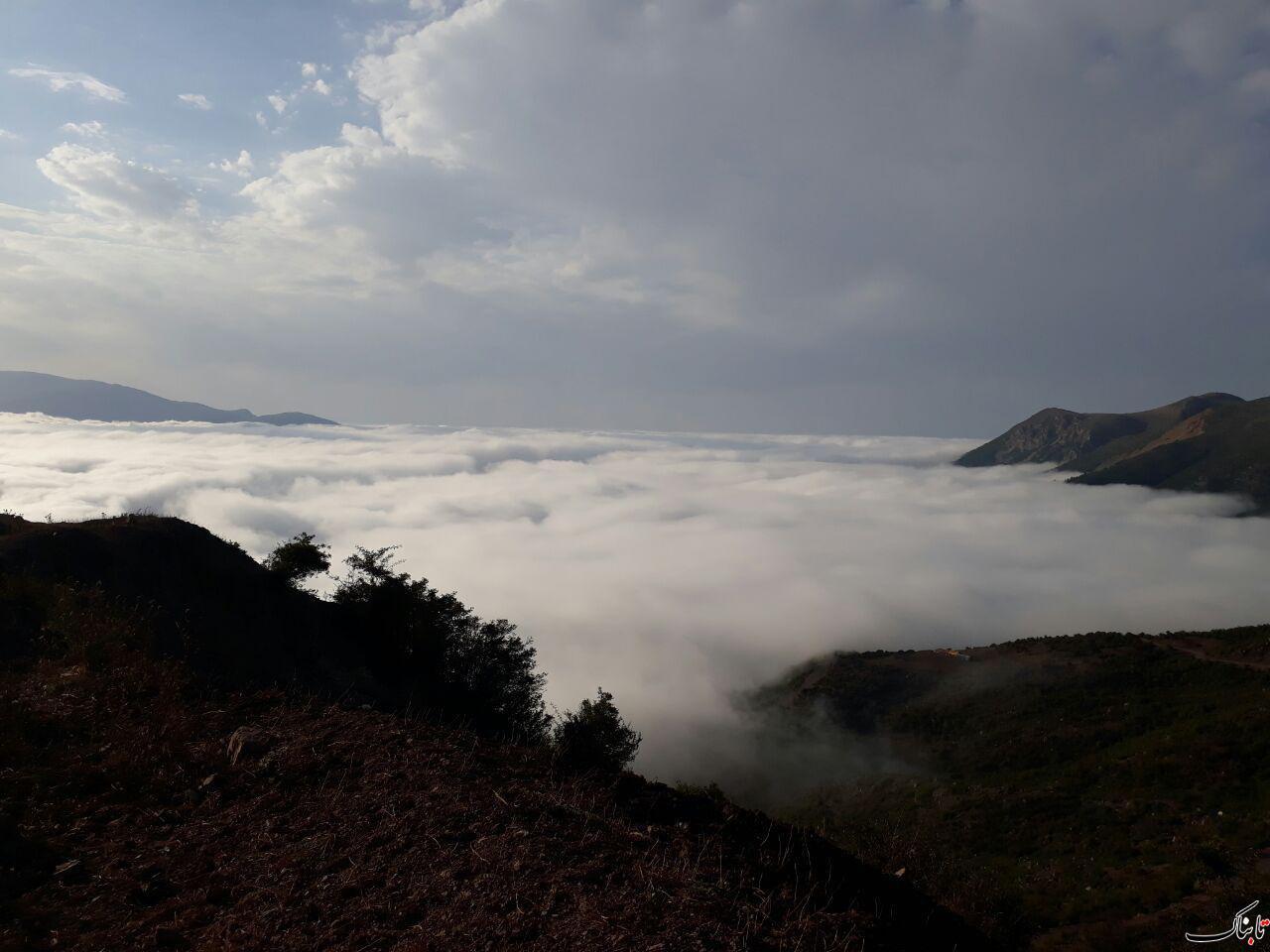 گردنه روستای ییلاقی نشل مازندران