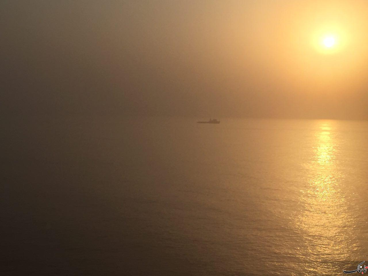 طلوع خورشيد، خليج فارس، منطقه پارس جنوبي