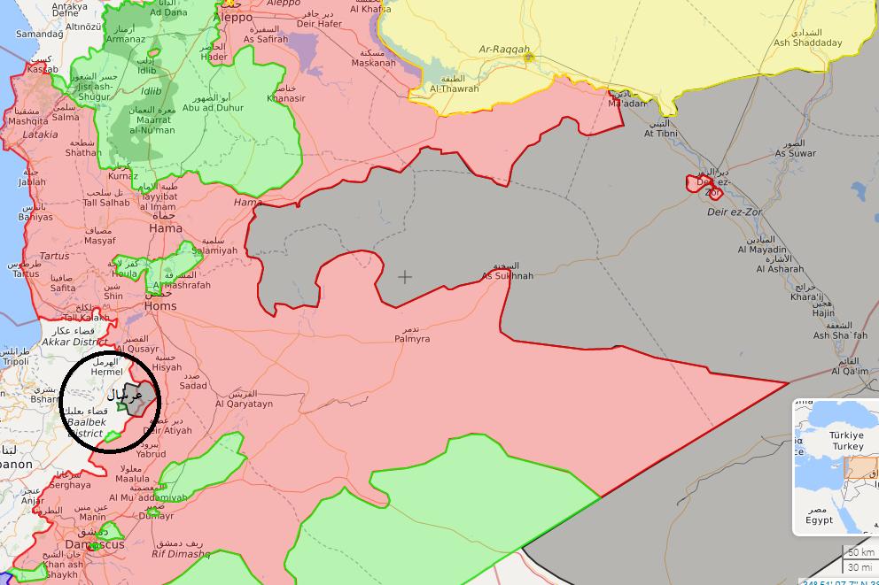 عملیات مشترک حزب الله، ارتش سوریه و نیروهای امریکایی علیه جبهه النصره