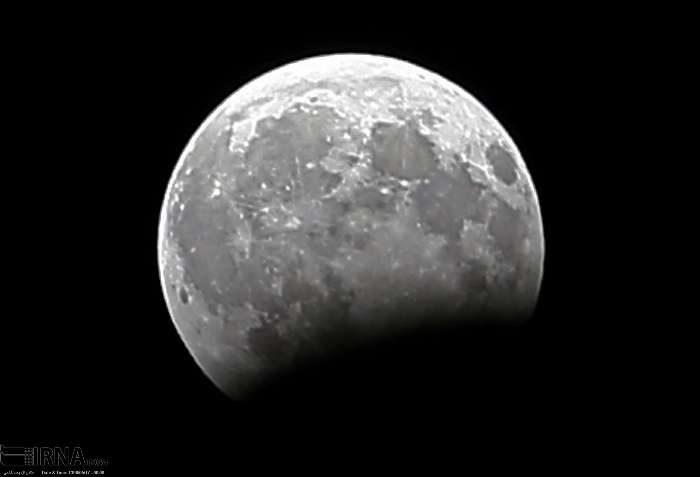 ماه گرفتگی در بجنورد