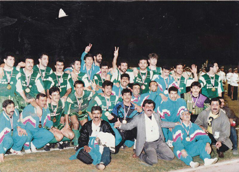عکسی از آخرین قهرمانی یک تیم ایرانی درآسیا