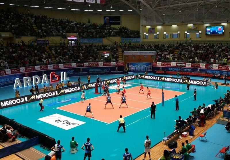 دیوار چین مقابل والیبال ایران فروریخت