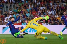 شکست تلخ بارسلونا در ال کلاسیکو به روابت تصویر