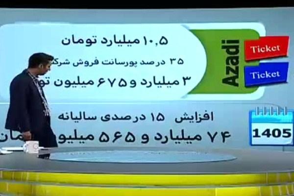 ردپای نزدیکان دو مدیرارشد دولت احمدی نژاد و روحانی در رانت بلیت فروشی فوتبال/فروش امتیاز 75میلیاردی با 4میلیارد