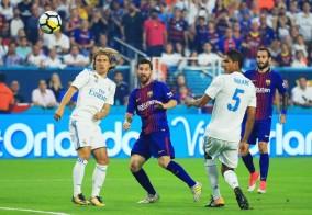 خلاصه بازی صبح امروز رئال و بارسلونا درآمریکا