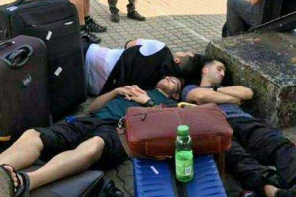 وضعیت اسفناک ورزشکاران ایران در لهستان + عکس