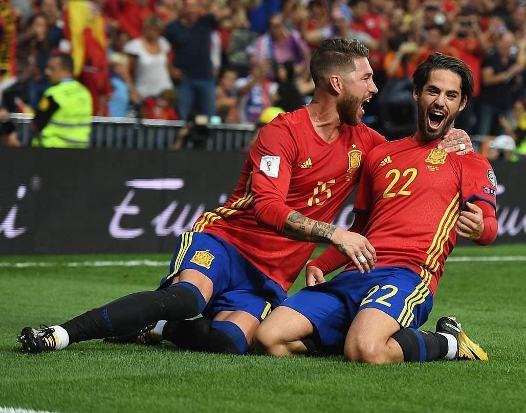 اسپانیا به سبک رئال مادرید،ایتالیا را له کرد