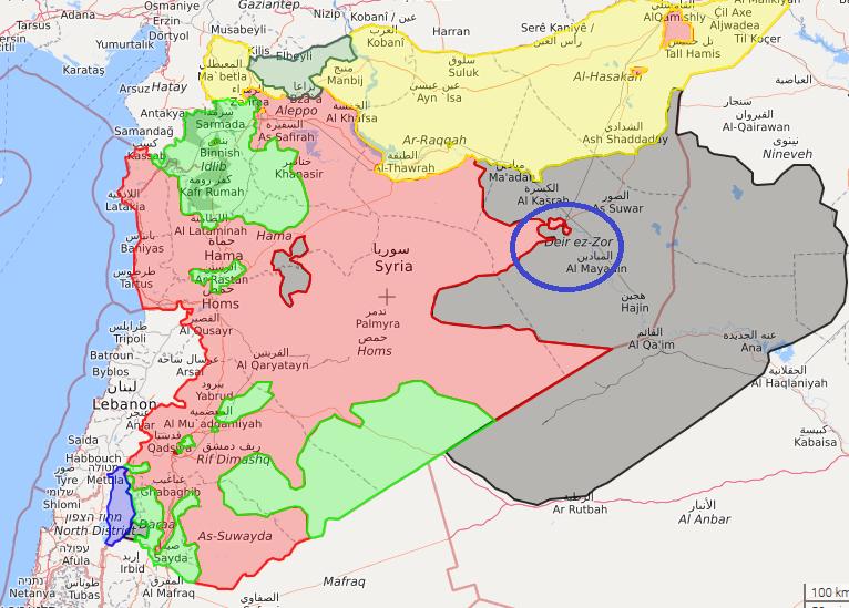 پایان محاصره سه ساله دیرالزور توسط ارتش سوریه/واکنش ها به سوزاندن پرچم عراق در اقلیم کردستان/ 11 هزار خودروی زرهی آمریکا در راه افغانستان
