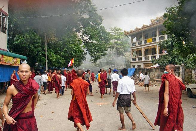 جزئیاتی از نسل کشی مسلمانان روهینگیا و نقش «بن لادن» بودایی ها