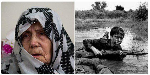 بعد از ۳۴ سال چشمانتظاری، مادر شهید جنگجو در روز تشییع پیکر فرزندش به او پیوست